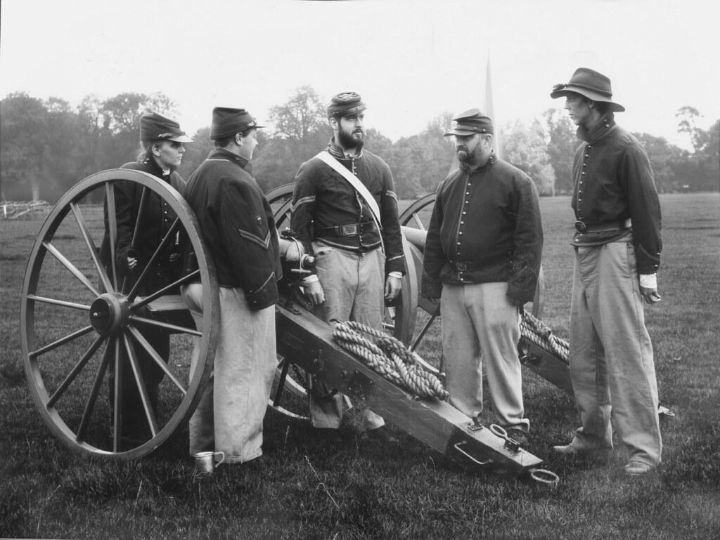 Imagem da Guerra Civil Americana (Postagem: Guerra civil manteria a escravidão)