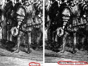 """Imagem da postagem: Ilustrações plagiadas em """"O grande conflito"""""""